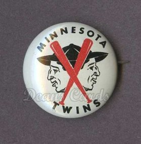 1961 Cranes Potato Chip Pin #13   Minnesota Twins