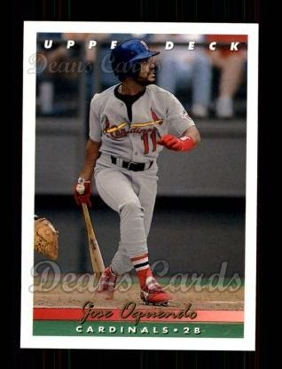 1993 Upper Deck #84  Jose Oquendo