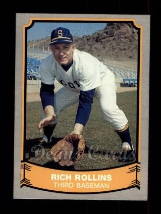 1989 Pacific Legends #169  Rich Rollins