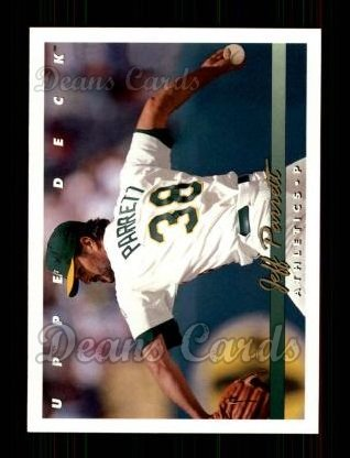 1993 Upper Deck #311  Jeff Parrett