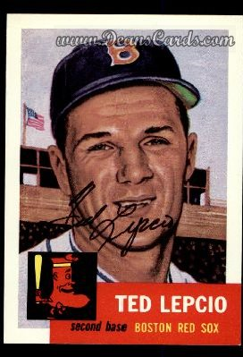 1991 Topps 1953 Archives #18  Ted Lepcio
