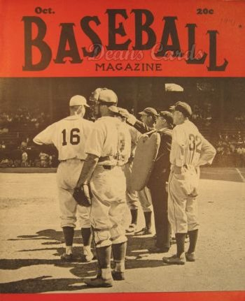 1941 Baseball Magazine    October