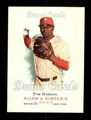 2007 Topps Allen & Ginter #149  Tom Gordon