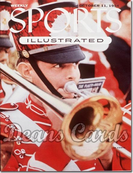 1954 Sports Illustrated   October 11  -  Oklahoma OU Sooners Band