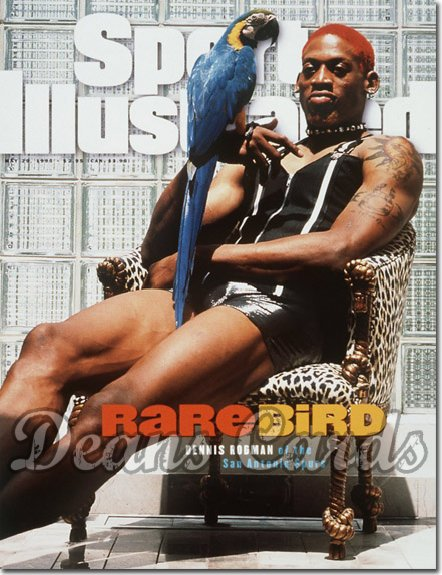 1995 Sports Illustrated - With Label   May 29  -  Dennis Rodman (San Antonio Spurs)