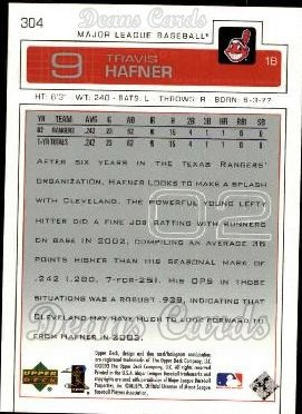 2003 Upper Deck #304  Travis Hafner