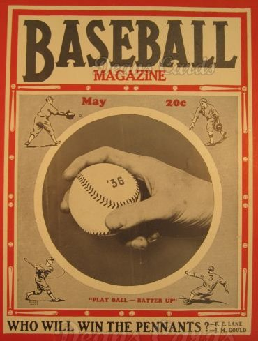 1936 Baseball Magazine    May