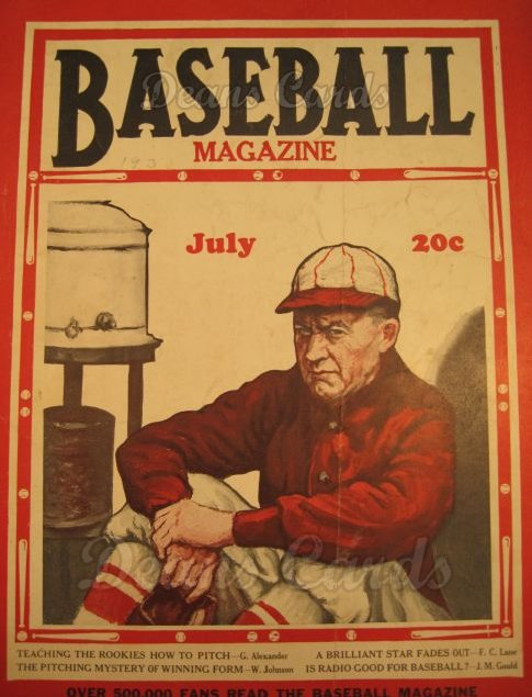 1930 Baseball Magazine    July