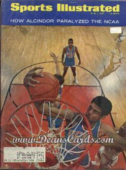 1967 Sports Illustrated - With Label   April 3  -  Lew Alcindor (UCLA Bruins)