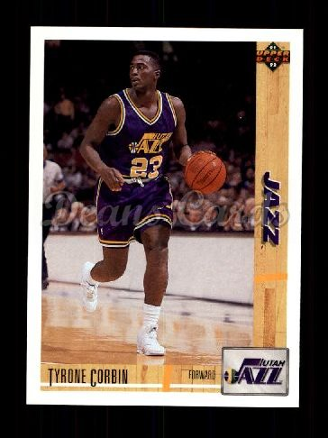 1991 Upper Deck #414  Tyrone Corbin