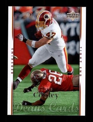 2007 Upper Deck #195  Chris Cooley