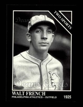 1992 Conlon #397   -  Walt French Two Sports
