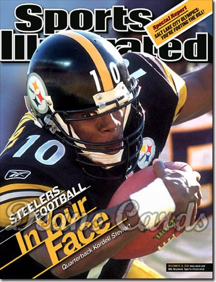 2001 Sports Illustrated - With Label   December 10  -  Kordell Stewart Pittsburgh Steelers