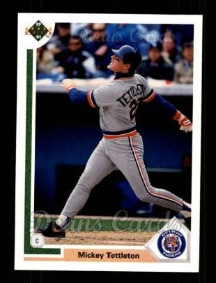 1991 Upper Deck #729  Mickey Tettleton