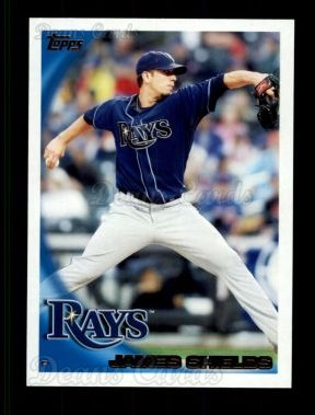 2010 Topps #195  James Shields