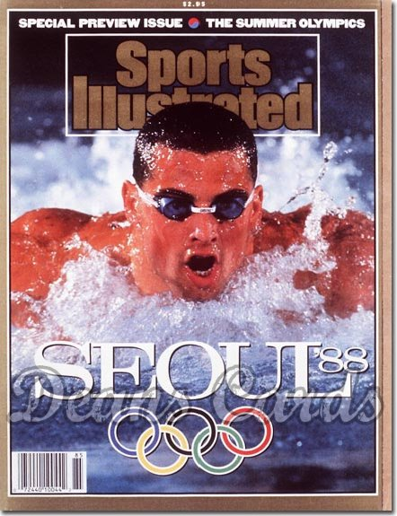 1988 Sports Illustrated - With Label   September 14  -  Matt Biondi (Swimming/Swimmer) (Olympic Preview)