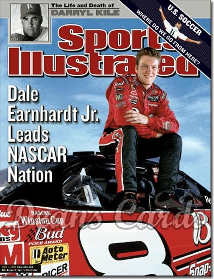 2002 Sports Illustrated   July 1  -  Dale Earnhardt Jr.