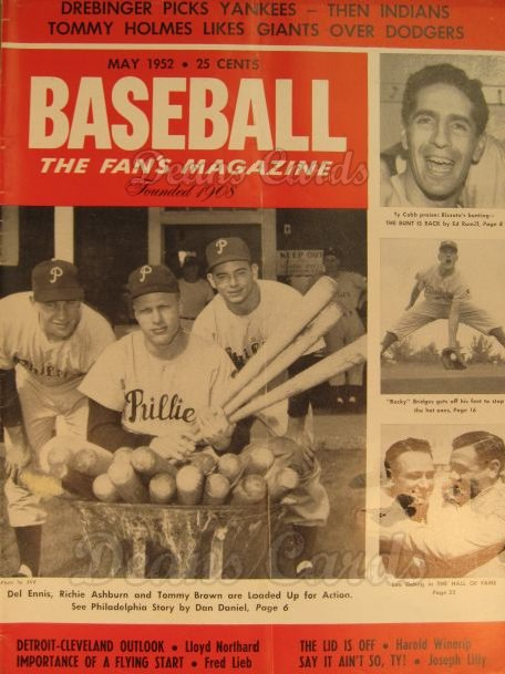 1952 Baseball Magazine    May
