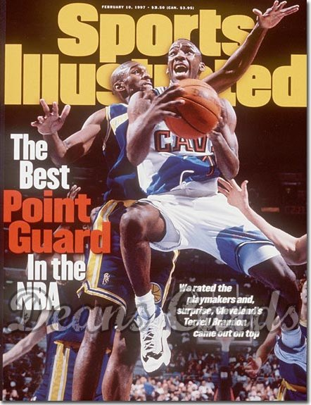 1997 Sports Illustrated - With Label   February 10  -  Terrell Brandon (Cleveland Cavaliers)