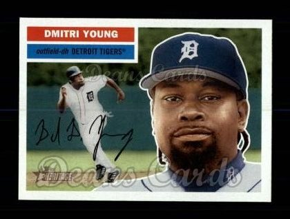 2005 Topps Heritage #330  Dmitri Young