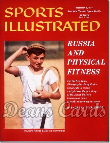 1957 Sports Illustrated - With Label   December 2  -  USSR Athlete