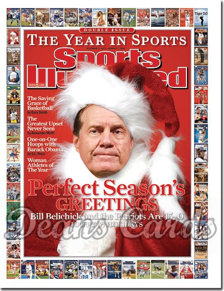 2007 Sports Illustrated   December 31  -  Bill Belichick