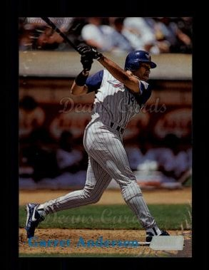 1998 Topps Stadium Club #124  Garret Anderson