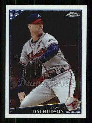 2009 Topps Chrome #38  Tim Hudson