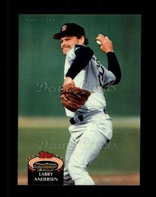 1992 Topps Stadium Club #91  Larry Andersen