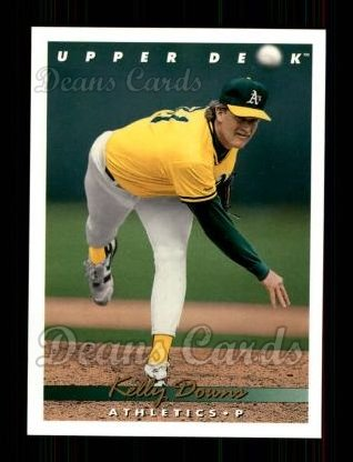 1993 Upper Deck #636  Kelly Downs