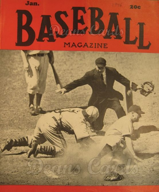 1946 Baseball Magazine    January