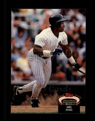 1992 Topps Stadium Club #9  Mel Hall