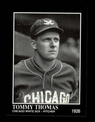 1992 Conlon #579  Tommy Thomas