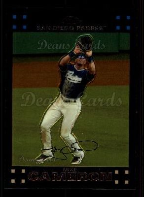 2007 Topps Chrome #183  Mike Cameron