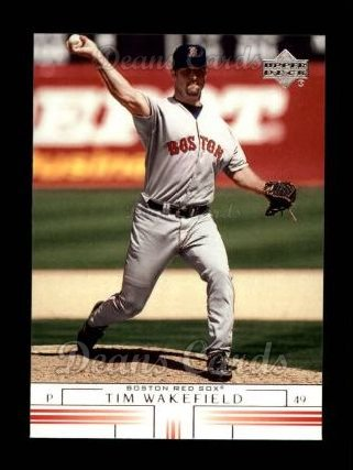 2002 Upper Deck #173  Tim Wakefield
