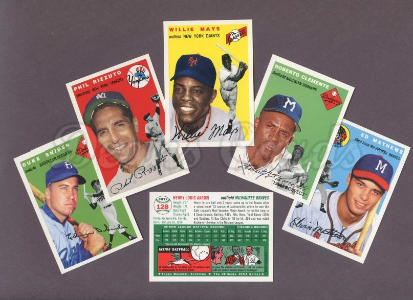 1954 Topps Archives     Complete Set