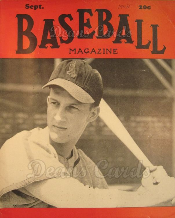 1948 Baseball Magazine    September