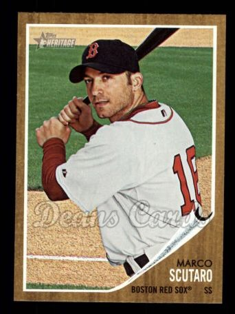 2011 Topps Heritage #153  Marco Scutaro