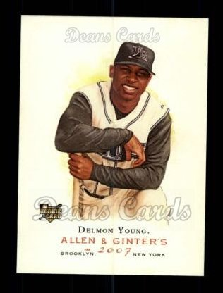 2007 Topps Allen & Ginter #120  Delmon Young