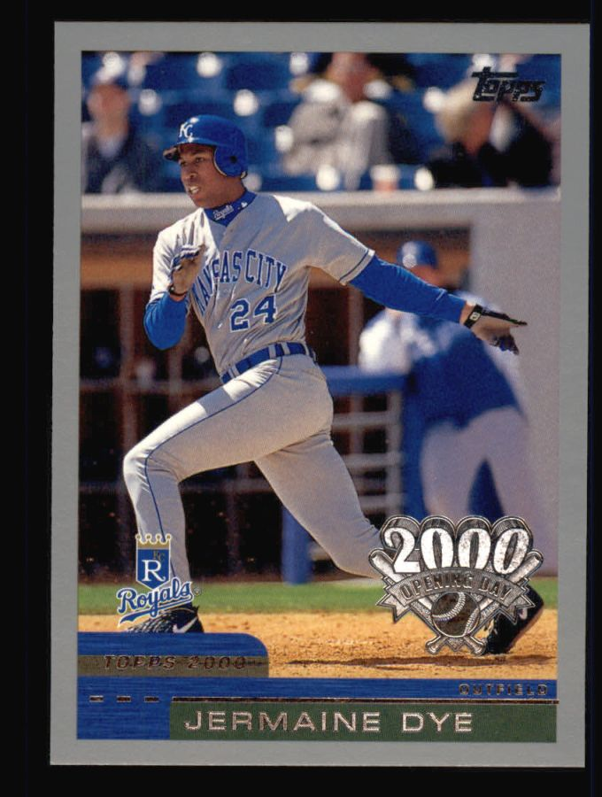 2000 Topps Opening Day #52  Jermaine Dye
