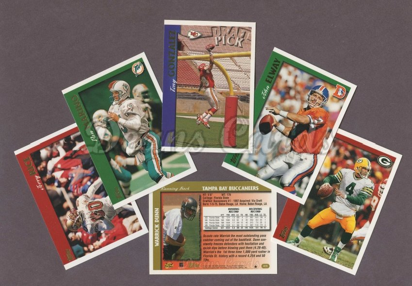 1997 Topps     Football Factory Sealed Complete Set