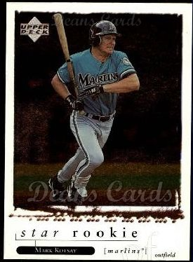 1998 Upper Deck #254  Mark Kotsay