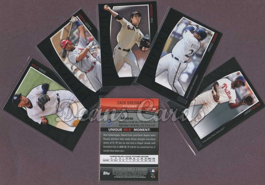 2009 Topps Unique     Baseball Base Set