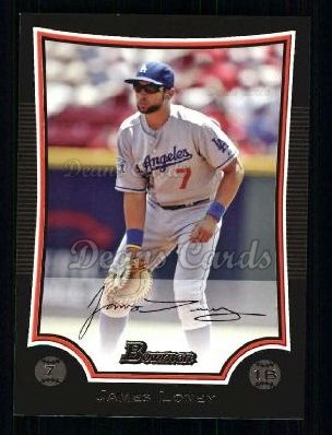 2009 Bowman #161  James Loney