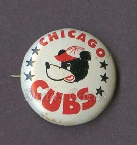 1961 Cranes Potato Chip Pin #3   Chicago Cubs