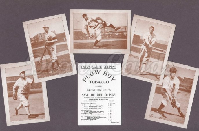 1910 Plow Boy Reprint   -12  Complete Set