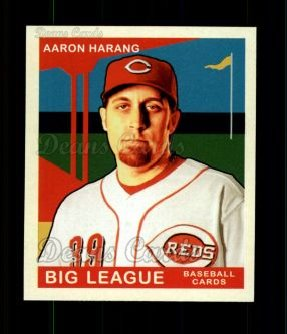 2007 Upper Deck Goudey Red Backs #188  Aaron Harang