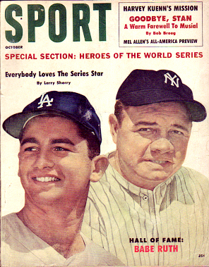 1960 Sport Magazine   -  Babe Ruth / Larry Sherry  October