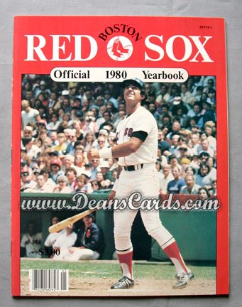 1980 Boston Red Sox Yearbook - Fred Lynn