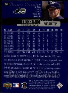 2000 Upper Deck #243  Kevin Stocker